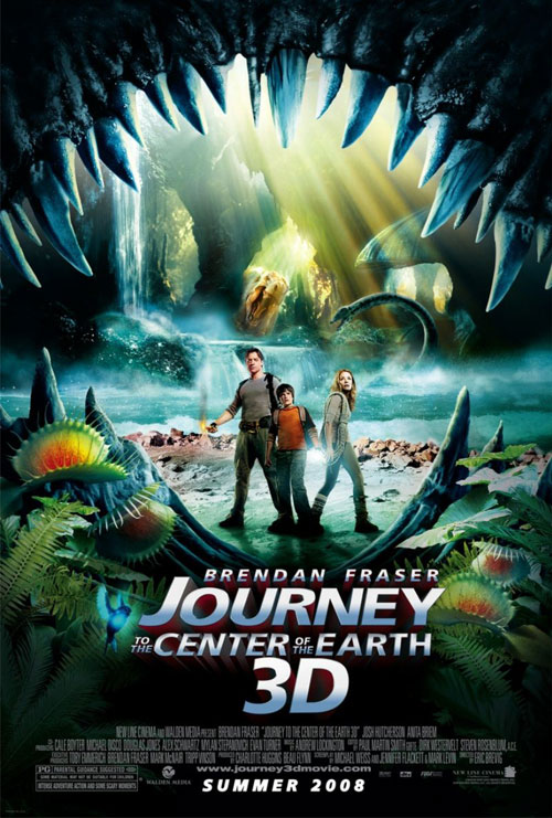 Us poster from the movie Journey to the Center of the Earth