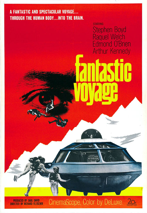 Us poster from the movie Fantastic Voyage