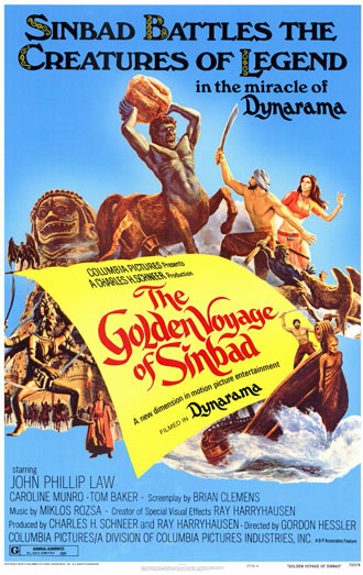 Us poster from the movie The Golden Voyage of Sinbad