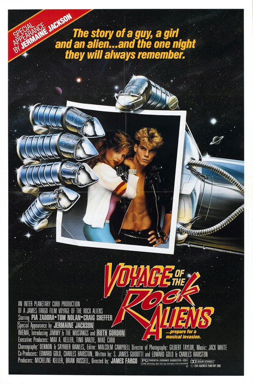 Us poster from the movie Voyage of the Rock Aliens