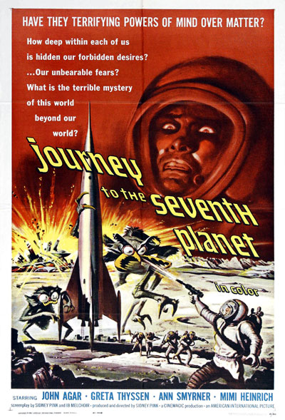 Us poster from the movie Journey to the Seventh Planet
