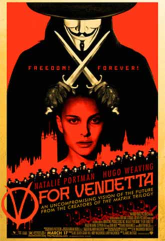 Us poster from the movie V for Vendetta