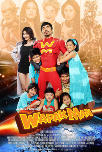 Filipino poster from the movie Wapakman