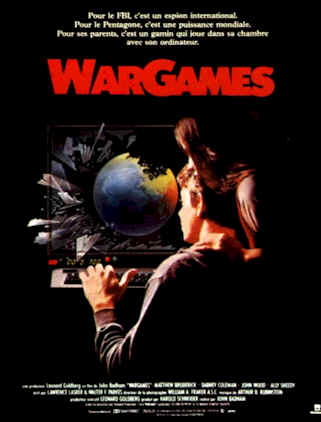 French poster from the movie WarGames