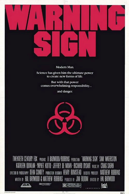 Us poster from the movie Warning Sign