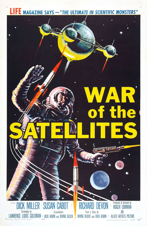 Us poster from the movie War of the Satellites