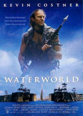 Affiche allemande du film Waterworld