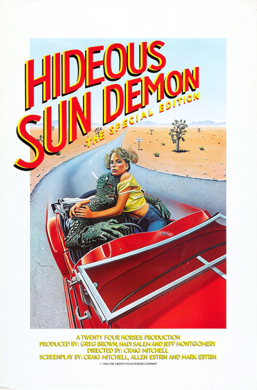 Us poster from the movie What's Up, Hideous Sun Demon