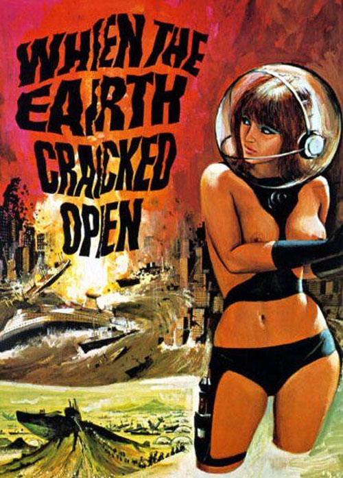 Unknown poster from the movie When the Earth Cracked Open
