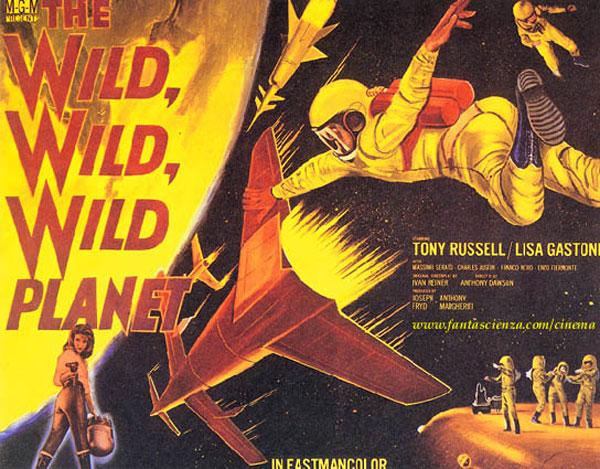 Wild Wild Planet (1965) movie poster #8 - SciFi-Movies