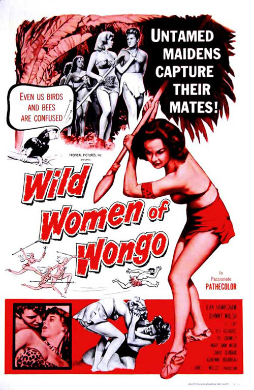 Us poster from the movie The Wild Women of Wongo