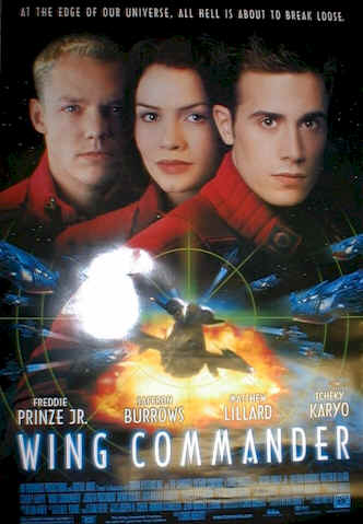 Unknown poster from the movie Wing Commander