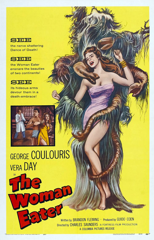 Us poster from the movie The Woman Eater (Womaneater)