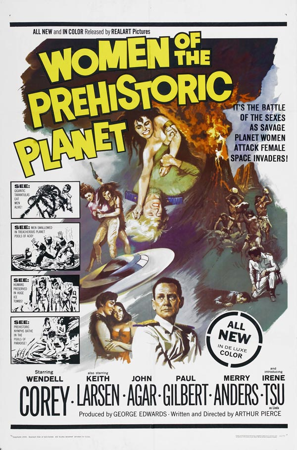 Us poster from the movie Women of the Prehistoric Planet