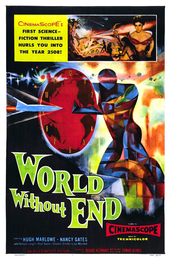 Us poster from the movie World Without End