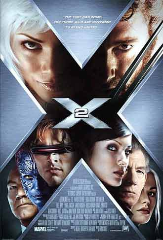 Us poster from the movie X-Men 2 (X2)