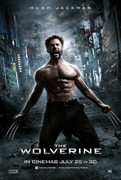 British poster from the movie The Wolverine