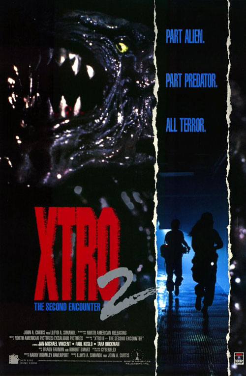 Us poster from the movie Xtro II: The Second Encounter
