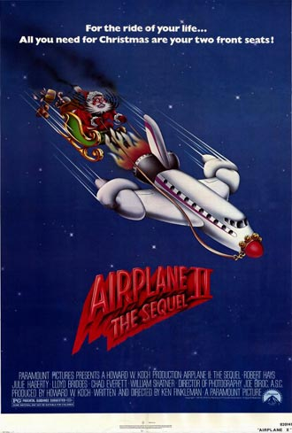 Us poster from the movie Airplane II: The Sequel