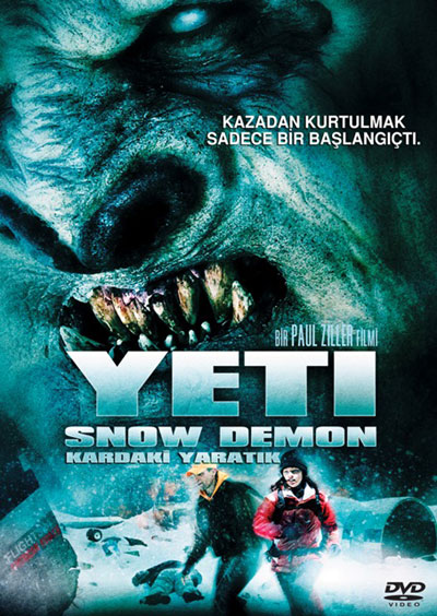 Unknown artwork from the TV movie Yeti: Curse of the Snow Demon