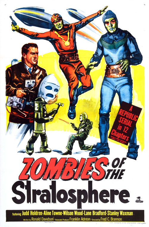 Us poster from the series Zombies of the Stratosphere