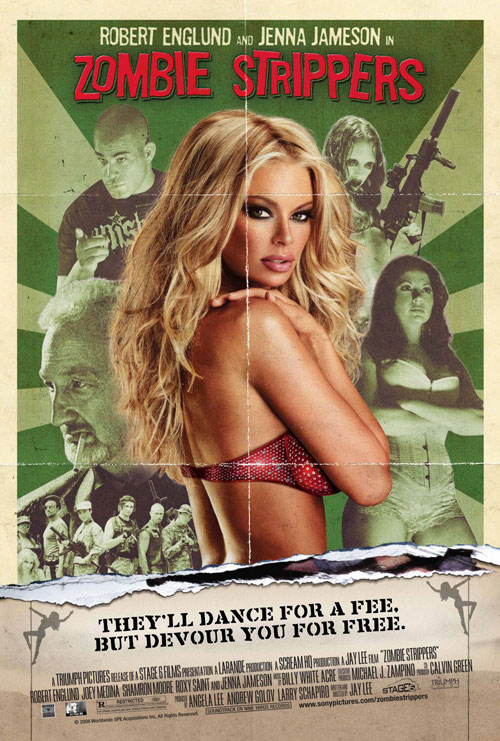 Us poster from the movie Zombie Strippers!