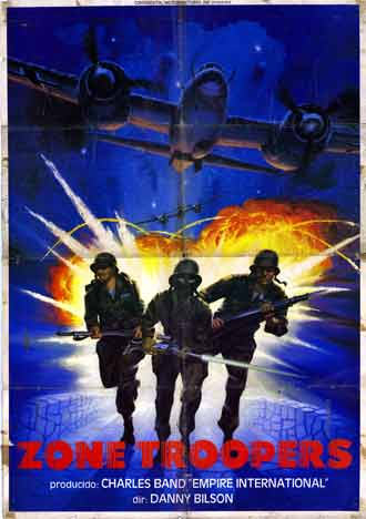Us poster from the movie Zone Troopers