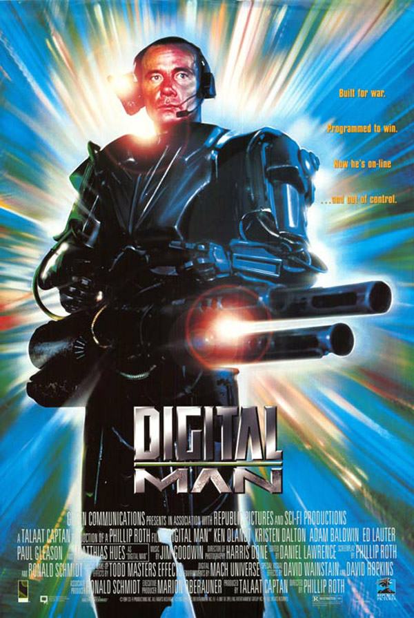 Unknown poster from the movie Digital Man