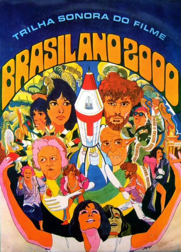 Brazilian poster from the movie Brasil Ano 2000