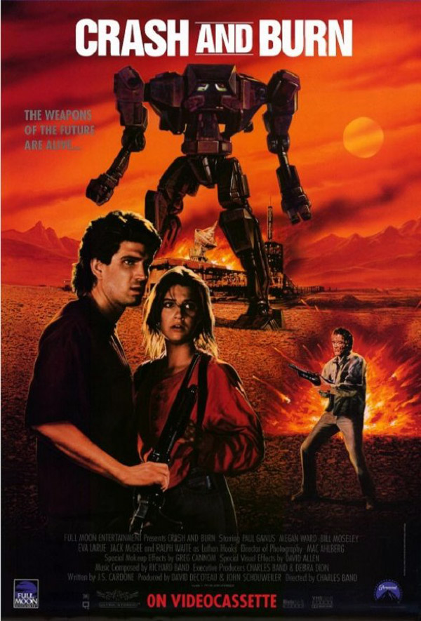 Us poster from the movie Crash and Burn