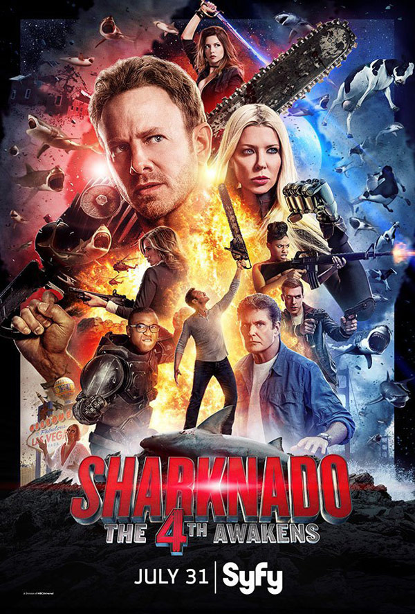 Us poster from the TV movie Sharknado 4: The 4th Awakens