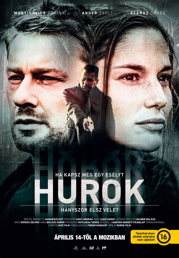Hungarian poster from the movie Hurok