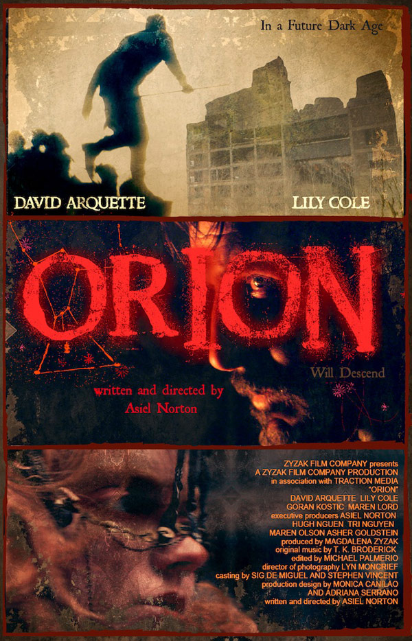 Unknown poster from the movie Orion
