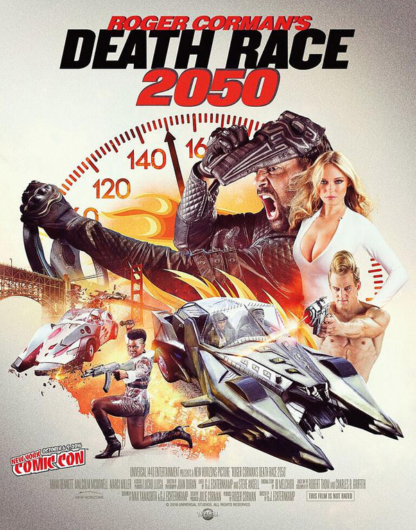 Us poster from the movie Death Race 2050