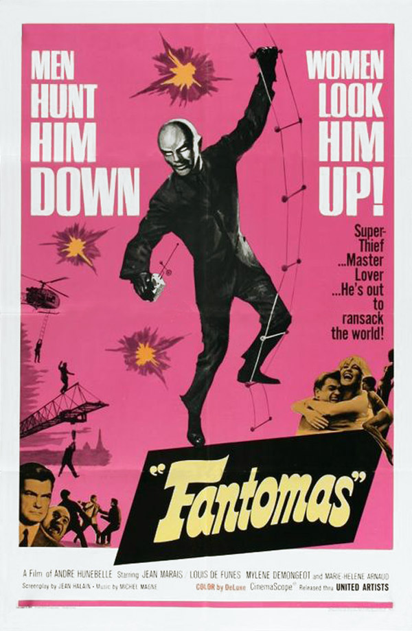 Unknown poster from the movie Fantomas Strikes Back (Fantômas se déchaîne)
