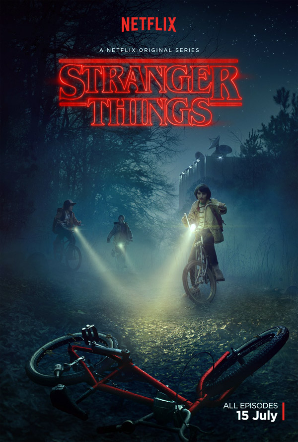 Us poster from the series Stranger Things