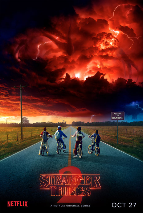 Us poster from 'Stranger Things'