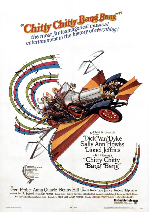 Us poster from the movie Chitty Chitty Bang Bang