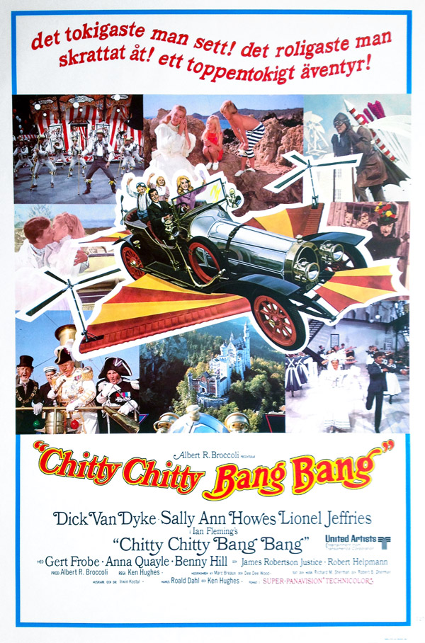 Affiche inconnue de 'Chitty Chitty Bang Bang'