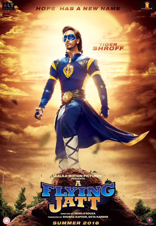Unknown poster from the movie A Flying Jatt