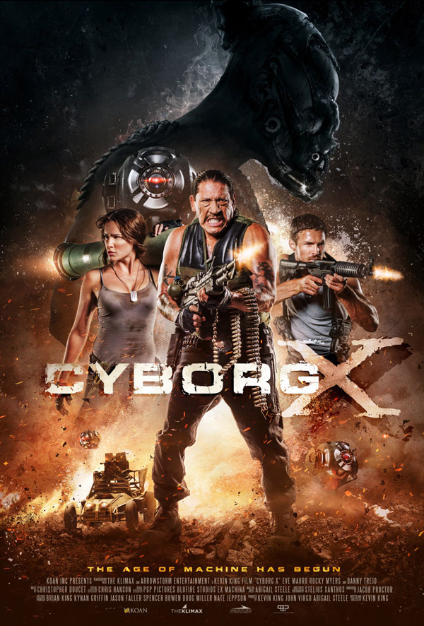 Us poster from the movie Cyborg X