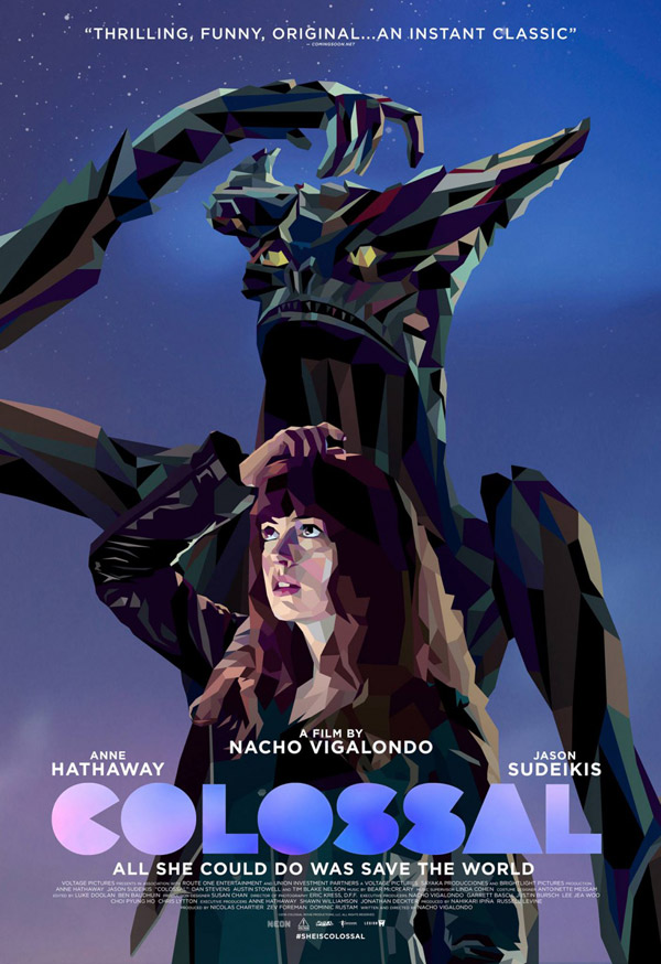 Unknown poster from the movie Colossal