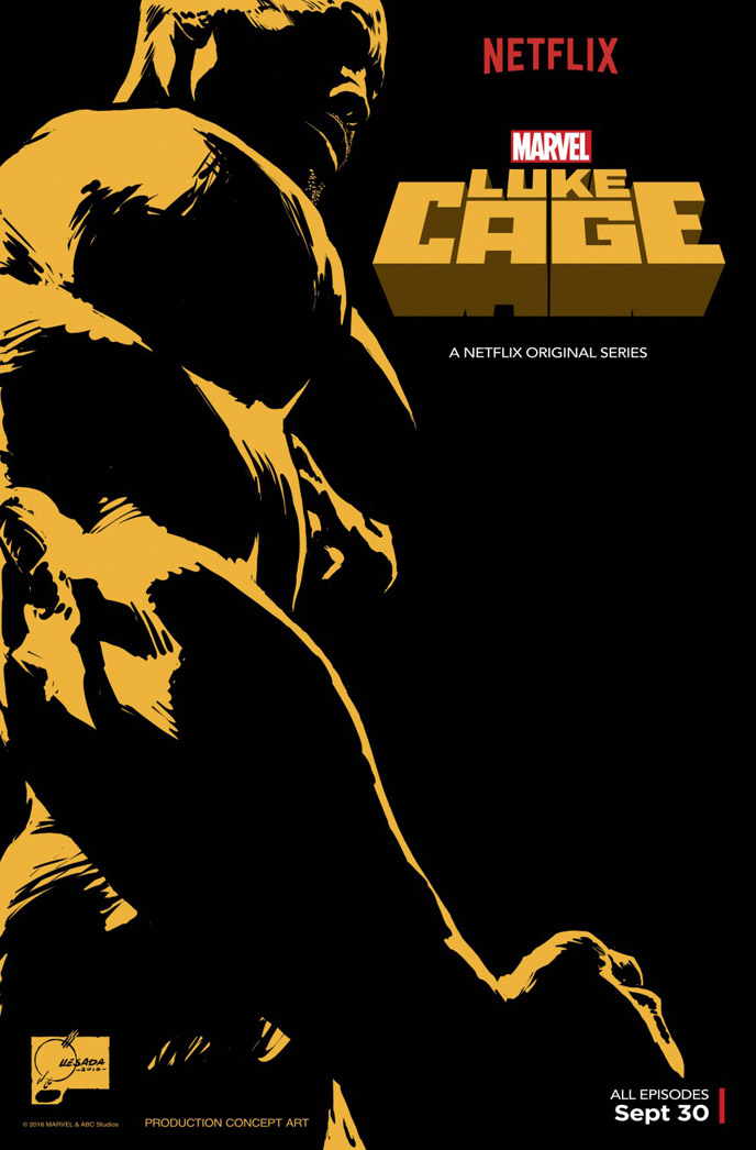 Us poster from the series Luke Cage
