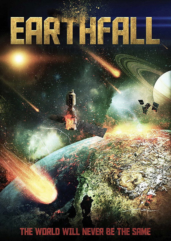 Canadian poster from the TV movie Earthfall