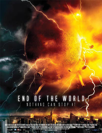 Affiche canadienne du téléfilm Le jour de l'apocalypse (End of the World)