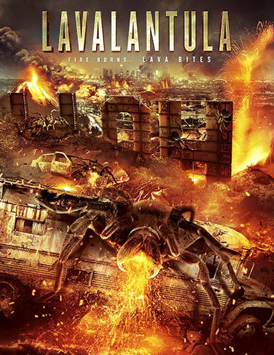 Canadian poster from the TV movie Lavalantula