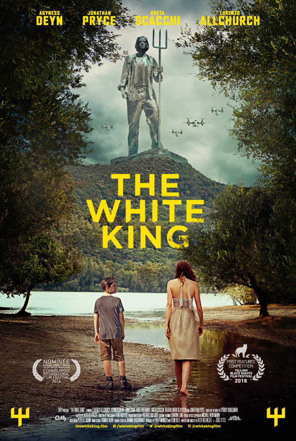 International poster from the movie The White King