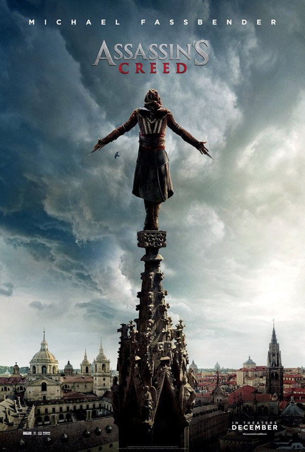 Affiche américaine de 'Assassin's Creed'