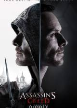 Movie poster from Assassin's Creed, in theaters on December 21, 2016