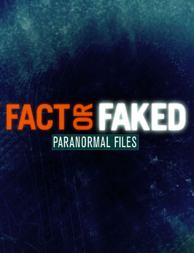 French poster from the series Fact or Faked: Paranormal Files